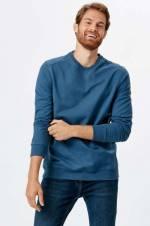 Erkek Indigo Sweatshirt 8W1354Z8