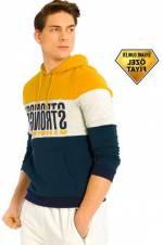 Genç Erkek Lacivert Sweatshirt 7K8064Z8