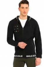 Genç Erkek Siyah Sweatshirt 8S2815Z8